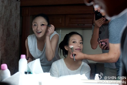 Posted by make-up artist @化妆彭平杰 on Weibo