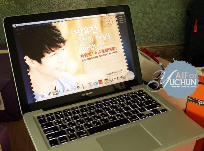 Macbook Pro for JYJ's Yoochun