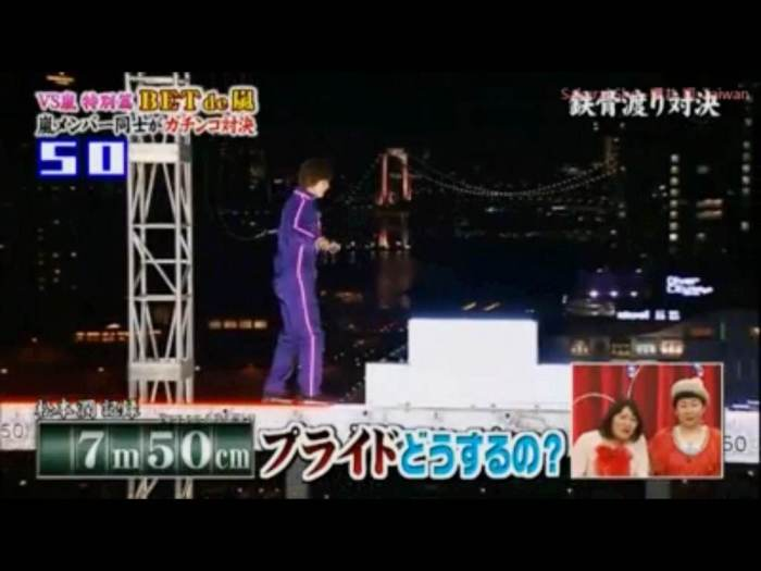 Jun has done the MJ walk upside down 30 meters up in the air. This is nothing.