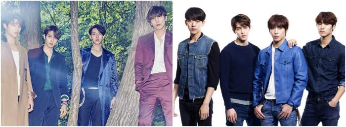 CNBLUE 2gether colors